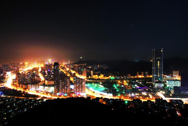 大连城市夜景